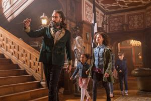 Star turn: Russell Brand in 'Four Kids and It'. Photos: Sky LTD