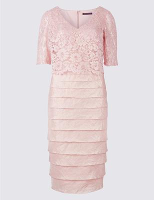 Lace shutter shift dress from M&S, €120