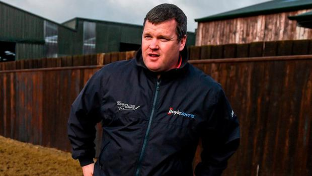 Trainer Gordon Elliott. Photo: Ramsey Cardy / Sportsfile