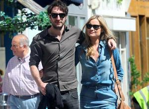 Danny O'Reilly and Laura Whitmore in London. Picture: REX