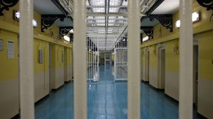 Mountjoy Prison's 'C Wing'.