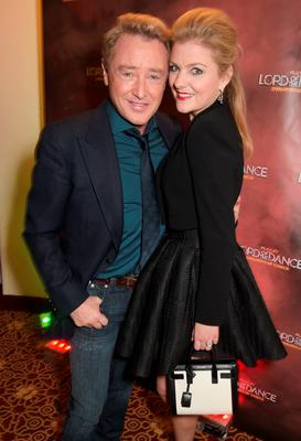 "Michael Flatley (L) and Niamh O'Brien attend the after party following the Gala Performance of ""Lord Of The Dance: Dangerous Games"""