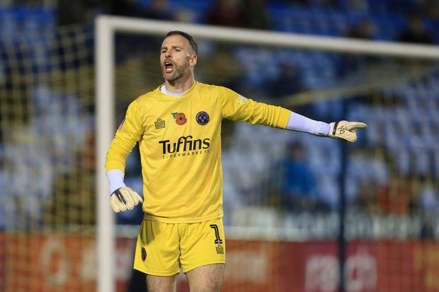 DETERMINED: Joe Murphy in action for Shrewsbury. Photo: Simon Stacpoole/Offside/Offside via Getty Images