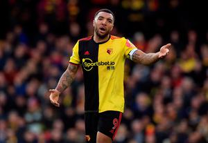 STANCE: Troy Deeney. Photo: Mike Egerton/PA Wire.