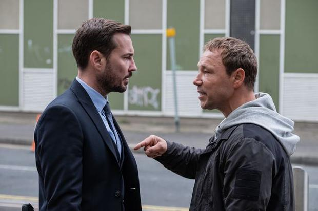 CO-STARS: Amy worked alongside Martin Compston and Stephen Graham in Line of Duty