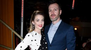 Jaime King and Kyle Newman attend the tenth annual Women in Film Pre-Oscar Cocktail Party presented by Max Mara and BMW at Nightingale Plaza on February 24, 2017 in Los Angeles, California.  (Photo by Vivien Killilea/Getty Images for Women In Film)