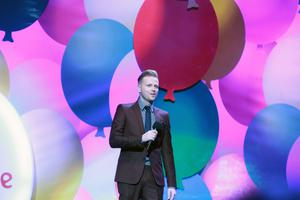Nicky Byrne at the Childline concert at the O2 in Dublin