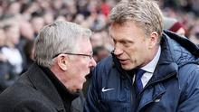Heir to the crown: David Moyes is favourite to replace Sir Alex Ferguson