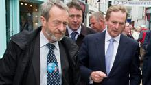 Sean Kelly MEP, pictured with Enda Kenny recently