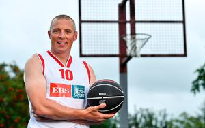 EBS ambassador and Tralee Warriors basketball star, Kieran Donaghy, pictured at the launch of the 2020 Federation of Irish Sport Volunteers in Sport Awards supported by EBS