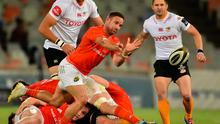 Alby Mathewson of Munster during the Guinness PRO14 Round 3 match against Toyota Cheetahs