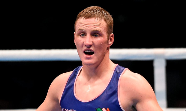 Boxer Michael O'Reilly admitted he took a banned substance Picture: Paul Mohan / SPORTSFILE
