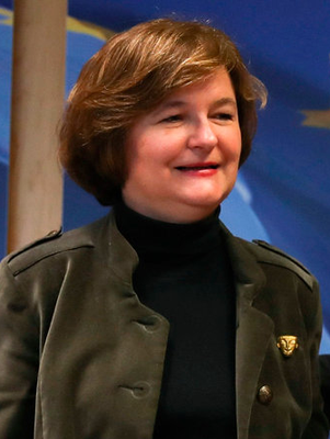 France's European Affairs Minister Nathalie Loiseau. Photo: AP