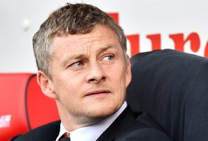 Ole Gunnar Solskjaer is looking over his shoulder as his time as Cardiff City manager appears to be coming to an end. Photo: BEN STANSALL/AFP/Getty Images