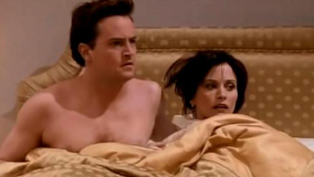 Friends: Monica and Chandler in London