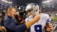 Dallas Cowboys' coach Jason Garrett is not up to it and his quarterback Tony Romo has a history of choking in the big games