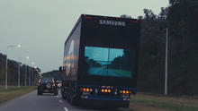 Samsung is testing their 'Safety Truck' in Argentina