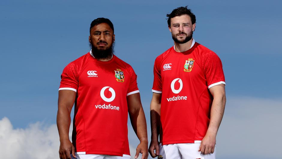 Robbie Henshaw and Bundee Aki will play in the centre of the Lions against Japan on Saturday. Mandatory Credit ©INPHO/James Crombie