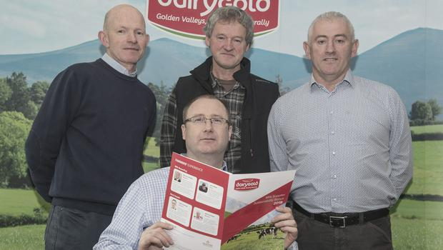 John Walsh, Ned OBrien, Michael Murphy and Kevin Downing at the launch. Photo O'Gorman Photography.