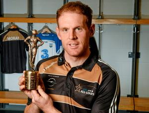 Waterford's Kevin Moran with his GAA/GPA Opel hurler of the month award
