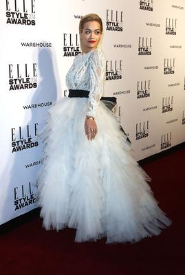 Rita Ora attends the Elle Style Awards 2014