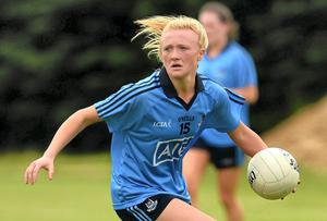 Carla Rowe: 'I don't remember the nights out I've missed, I remember the games I've won.' Piaras O Midheach / SPORTSFILE