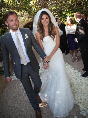Victoria's Secret Angel Lily Aldridge wed Kings of Leon frontman Caleb Followill in May 2011
