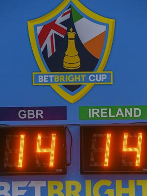 It was a 14-all draw in the Betbright Cup last year