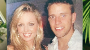 Rosanna Davison with her now husband Wes Quirke