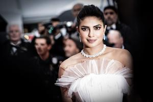 """Priyanka Chopra attends the screening of """"Les Plus Belles Annees D'Une Vie"""" during the 72nd annual Cannes Film Festival on May 18, 2019 in Cannes, France. (Photo by Vittorio Zunino Celotto/Getty Images)"""