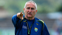 Donie Buckley has pointed the way for the Kerry defence since his return to the management team this season. Photo: Sportsfile
