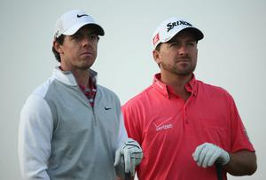 Europe's Ryder Cup captain says he is keeping his options open on the issue of playing Rory McIlroy and Graeme McDowell together at Gleneagles. Photo: Andrew Redington/Getty Images