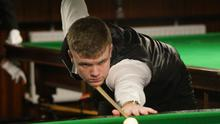 Cork teenage snooker star Aaron Hill