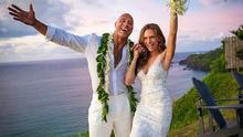Dwayne Johnson married Lauren Hashian in Hawaii