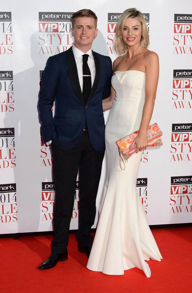Brian Ormond & Pippa O'Connor at the VIP Style Awards