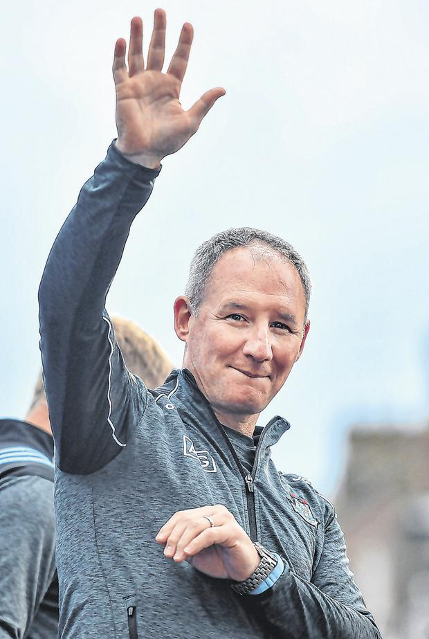 Jim Gavin says he will miss being on the sideline for Dublin football games. Photo: David Fitzgerald/Sportsfile