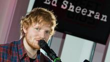 Ed Sheeran performs live during the Telekom Street Gig at Zugspitze