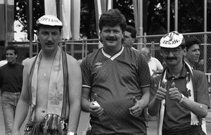 Irish fans at Euro 88 (Part of the Independent Newspapers Ireland/NLI Collection).