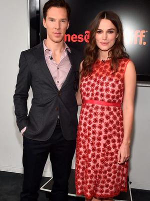 """Actors Benedict Cumberbatch and Keira Knightley attend The New York Times' TimesTalk & TIFF In Los Angeles Presents """"The Immitation Game"""" at The Paley Center for Media"""