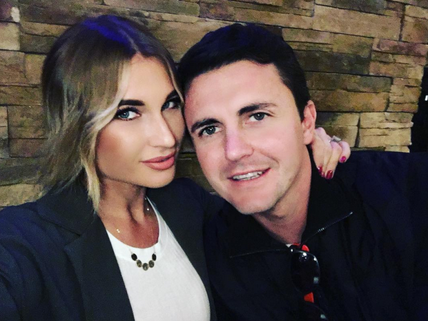 Billie Faiers and fiance Greg Shepherd/Instagram