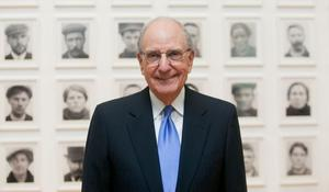 Peace process: George Mitchell was instrumental. Photo: Gareth Chaney/Collins