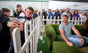 Rob and Dave Kearney to Join NDC at Ploughing & Judge 'Welly Line Out' NDCDome at  ploughing: Block 3/ Row 21/ Stand 306  Picture Dylan Vaughan
