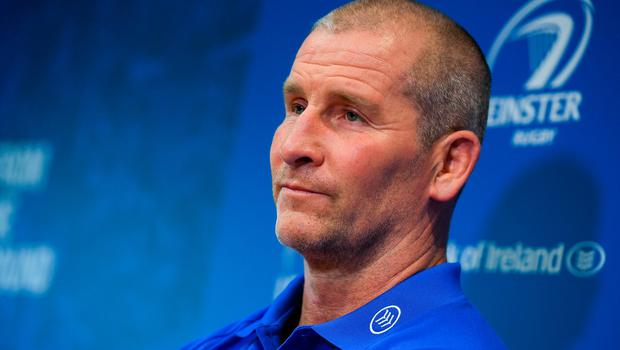 Leinster senior coach Stuart Lancaster is pictured during a press conference at Leinster Rugby HQ in UCD, Dublin. Photo: Ramsey Cardy/Sportsfile