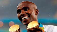 'Mo Farah, whatever you think of him, has been thrust centre-stage this week with the Trump Muslim ban potentially affecting him as a Somali-born British citizen.' Photo: PA