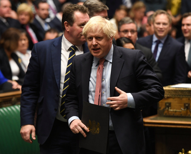 Yesterday Britain's Prime Minister Boris Johnson vowed to outlaw any extension of the next phase of Brexit past 2020. Photo: Reuters