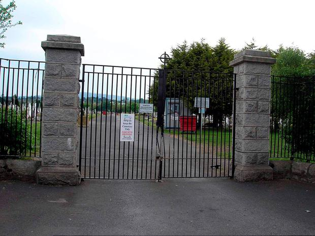 The entrance to Deansgrange Cemetery