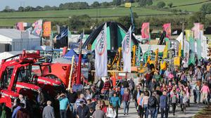The gates are open at National Ploughing Championships Fenadh Co Carlow. Picture by David Conachy.