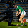 25 January 2020; Gearoid Hegarty of Limerick scores his side's second goal past Brian Hogan of Tipperary during the Allianz Hurling League Division 1 Group A Round 1 match between Tipperary and Limerick at Semple Stadium in Thurles, Tipperary. Photo by Diarmuid Greene/Sportsfile