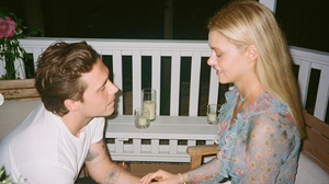Brooklyn Beckham and Nicola Peltz have shared their proposal photographs after announcing their engagement last month.