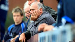 Tony Ward the coach on the sidelines of a match